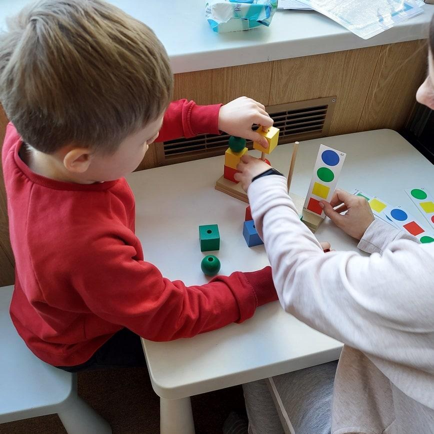 Развивающе занятия для детей с СДВГ в Харьковне