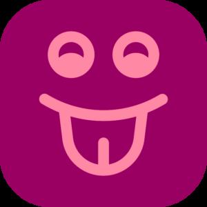 Иконка бордовая логопед TimmiClub